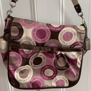 Excellent condition Coach diaper bag